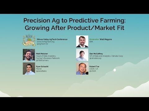 Precision Ag to Predictive Farming