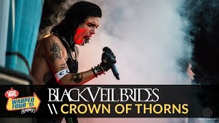 Black Veil Brides - Crown of Thorns (Live 2015 Vans Warped Tour)
