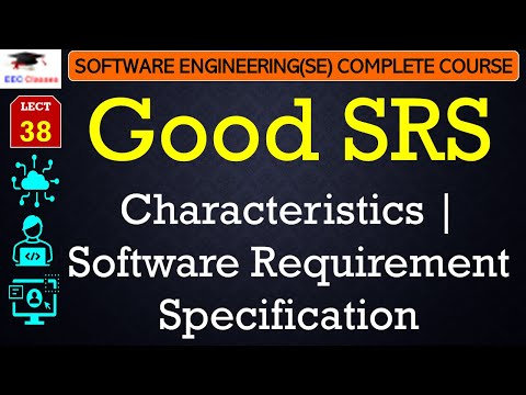 Characteristics of Good SRS[Software Requirement Specification] - Software Engineering Hindi