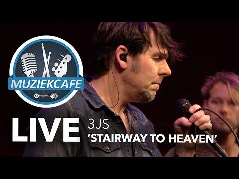 3JS - 'Stairway To Heaven' Live Bij Muziekcafé