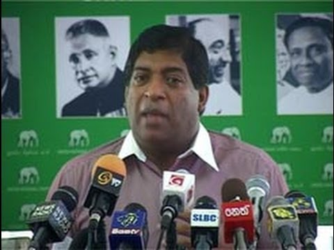 Police now a 'private security' firm for SLFP - Ravi