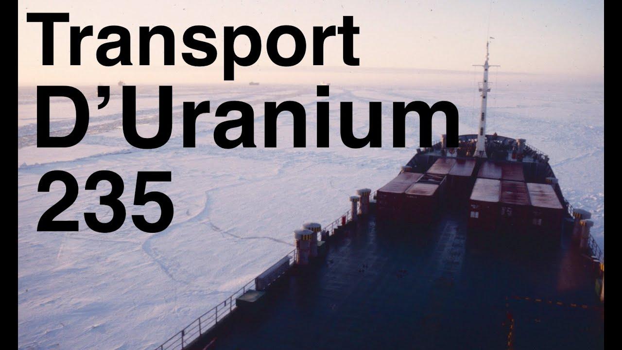 Dans un cargo russe transportant de l'Uranium 235