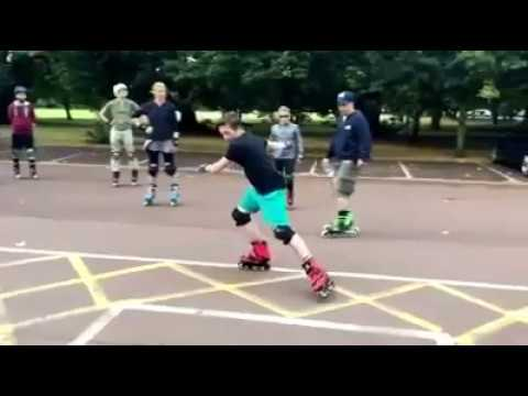 Download Sliding How to Brake/Stop on Inline Skates Clinic