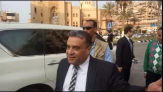 تصريح مساعد وزير الداخلية لمدن القناة اللواء محمود الديب أثناء تفقده الكنائس