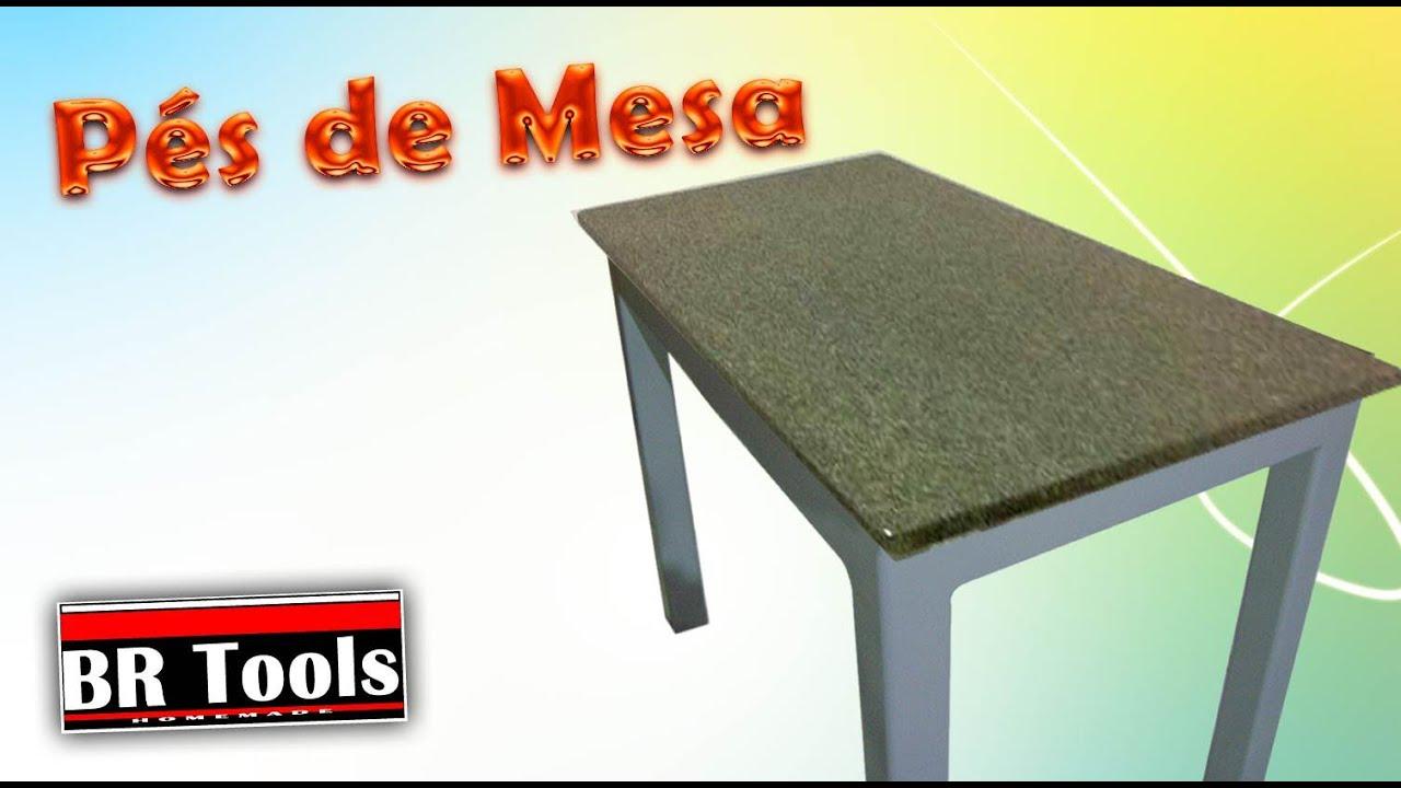 P s de mesa para colocar pedra de granito m rmore youtube - Mesa de granito ...