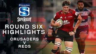 ROUND 6 HIGHLIGHTS | Crusaders v Reds - 2020