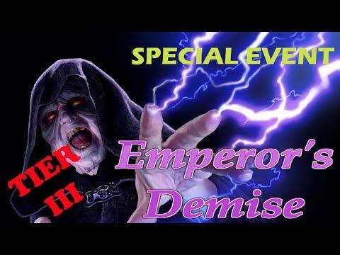 SWGOH - Emperor's Demise Eevent