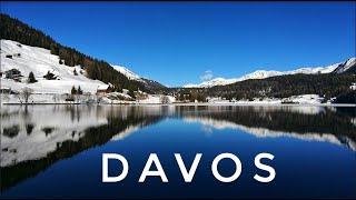 Давос перед Всемирным экономическим форумом и самый длинный каток Швейцарии