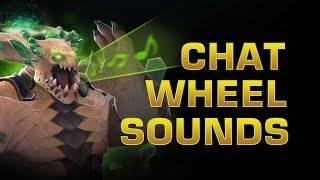 Dota 2 TI8 - Chat Wheel Sounds