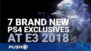 Sony E3 2018 Countdown: 7 Brand New Ps4 Exclusives That Could Be Announced | Playstation 4