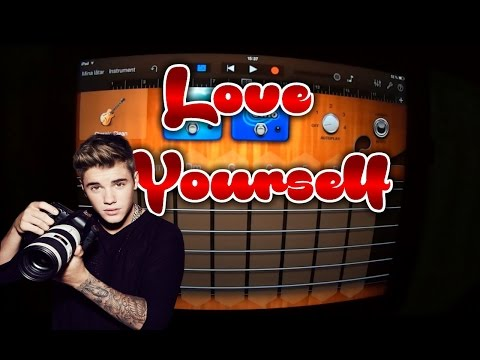 Justin Bieber - Love yourself (GARAGEBAND TUTORIAL)