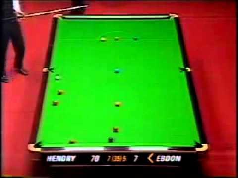 1996 World snooker Final 13  follow 11    )