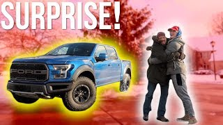 I BOUGHT MY DAD HIS DREAM TRUCK FOR CHRISTMAS! **emotional** thumbnail