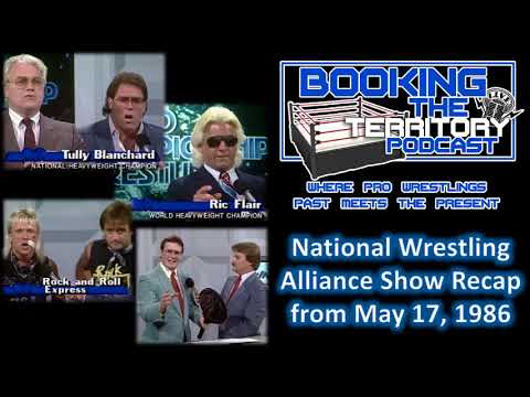 NWA WCW May 17 1986 Recap featuring promos by Jim Cornette, Ric Flair, Arnderson and More!