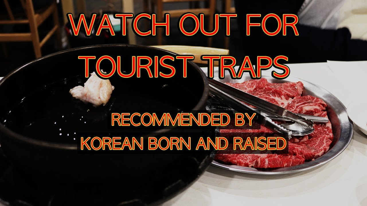 Told By Korean Local Top Bbq Restaurants In Seoul Korea Travel Vlog