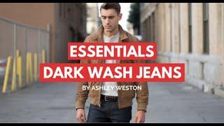 Dark Wash Jeans/Denim - Men
