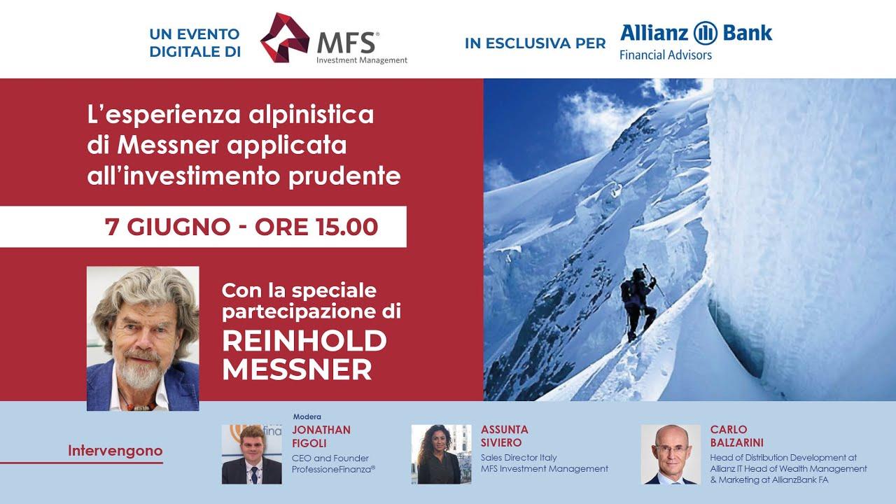 L'esperienza alpinistica di Messner applicata all'investimento prudente