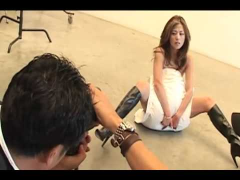 "erotic ""Kumiko Takeda"" 武田久美子 Japanese photo model shooting session"