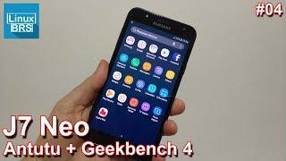 Samsung Galaxy J7 Neo - Antutu Benchmark e Geekbench 4