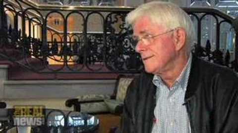 "Phil Donahue on ""shut up and sing"""