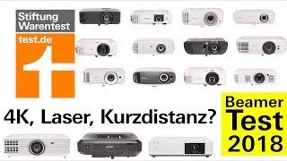 Beamer Test 2018 + Kaufberatung - 4K Beamer, Laser-Beamer, Kurzdistanz & der beste unter 1000 €