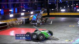 Overhaul vs. Lock-Jaw - BattleBots