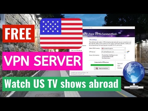 Watch US TV Shows abroad with Free US VPN Servers! Free English, German, Dutch, British VPN Servers