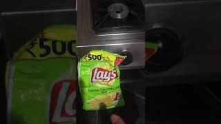 Watch till end ! Lays Potato Chips are formed of Plastic !