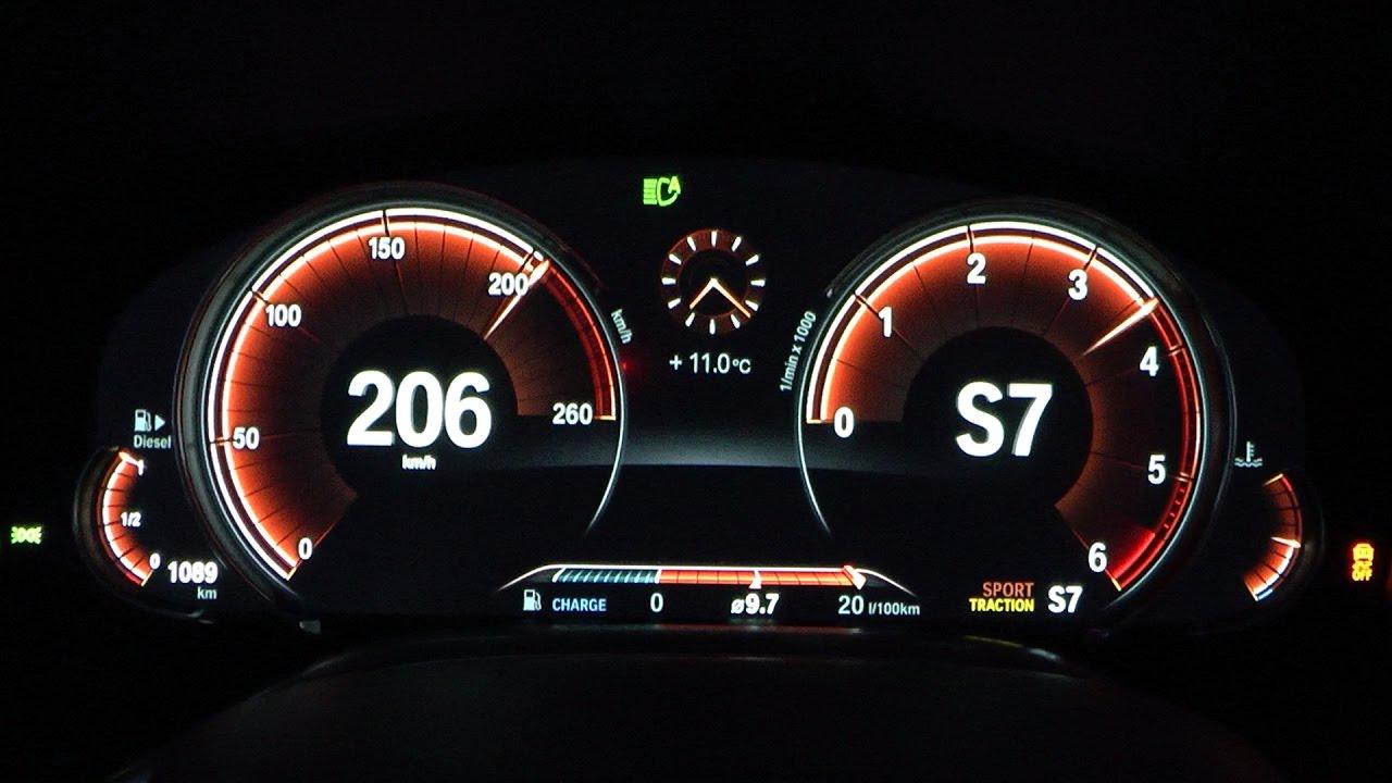 2017 BMW 750d xDrive 400 HP 0100 kmh 0100 mph  0200 kmh