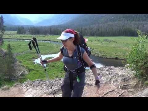 BACKPACKING ROCKY MOUNTAIN NATIONAL PARK - EAST INLET TRAIL