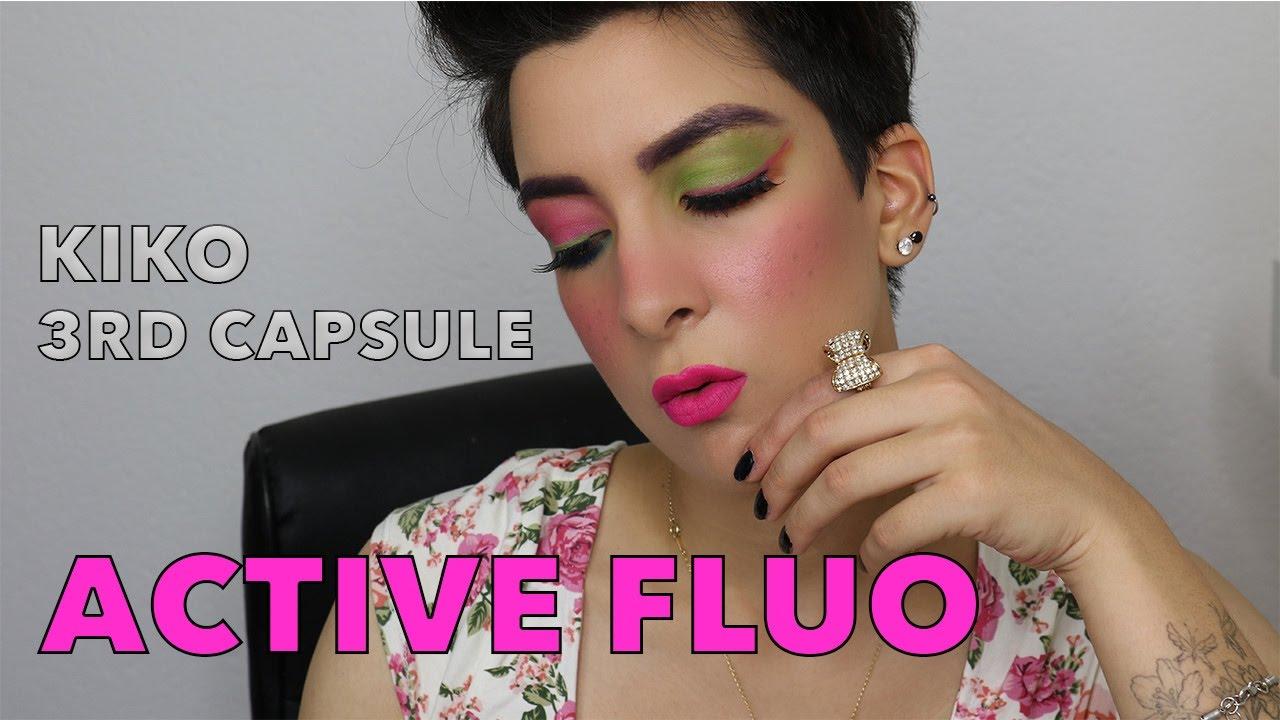 Kiko Milano 3rd capsule collection Active Fluo Makeup ...