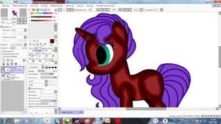 Обучение по обработке пони в саи #2 тени на теле