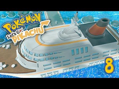 BATALLA EN EL SS ANNE! Pokemon Lets GO! E8 - Luzu