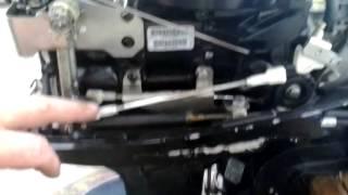 Лодочный мотор Меркурий 15 м . РЕВЕРС ГАЗ