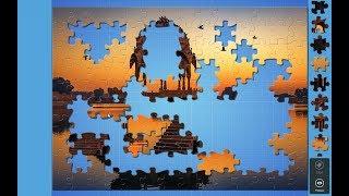 Solving Magic Jigsaw Puzzles 3 (140 pcs) screenshot 5