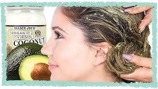 How To Make an Avocado Hair Mask - Rejuvenate Your Dry Hair & Say Bye to Split Ends
