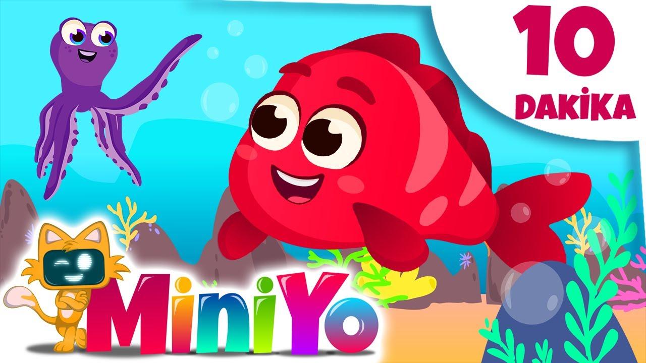 Kırmızı Balık Şarkısı + Daha Fazla Çocuk Şarkısı   Miniyo
