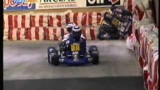 Go Kart racing: Schumacher and Prost (Paris-Bercy 1994)