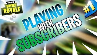 SUBDAY SATURDAY! OPEN LOBBY | 2000 VBUCK GIVEAWAY | PS4 Pro | 465+ Wins | Fortnite Battle Royale