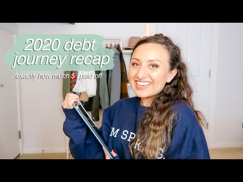 2020 DEBT PAYOFF RECAP // exactly how much debt I paid off this year, baby step 2, vlogmas day 23
