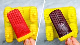 5-Ingredient Fruit And Herb Popsicles • Tasty