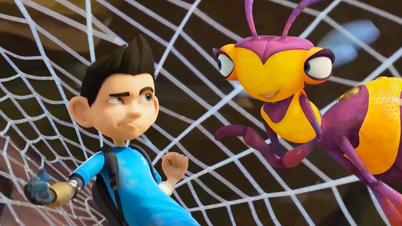 Insectibles | New | Stuck In Spider Web | Funny Cartoons For Kids