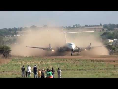 DC-6 Landing