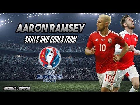 Aaron Ramsey - Goals & Skills Euro 2016