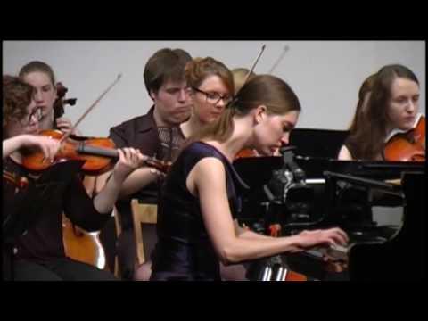 W. A. Mozart: Piano concerto nr. 20, D minor KV 466, Sara Rustja Turniski, piano (2nd part)