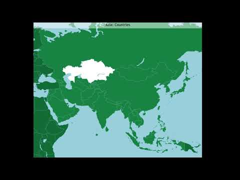 Asia: Countries (A-Z)