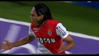 Radamel Falcao Goal - Nantes vs Monaco 0-1 All Goals  And Highlights 2014