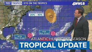 Tuesday Night Tropical Update: Peter, Rose And Soon To Be Sam In The Atlantic