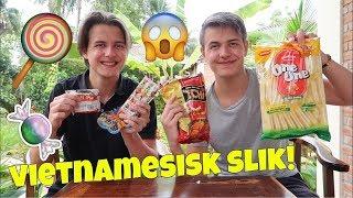 VI SMAGER VIETNAMESISK SLIK!! - Slik video!