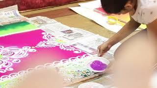 Mela Rangoli Art Exhibition